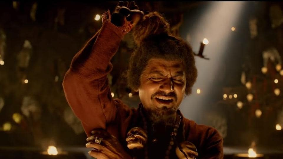 Nawazuddin Siddiqui as a tantrik in Housefull 4's song Bhoot.