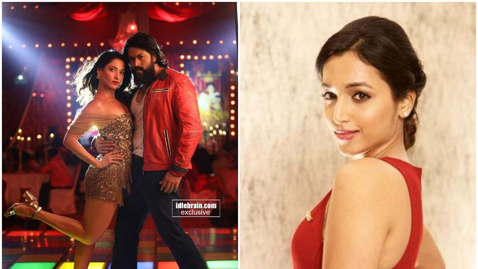 Srinidhi Shetty made her film debut with Yash starrer KGF.