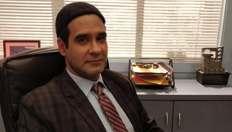 Mukul Chadda plays the boss, Jagdeep Chadda, in The Office.