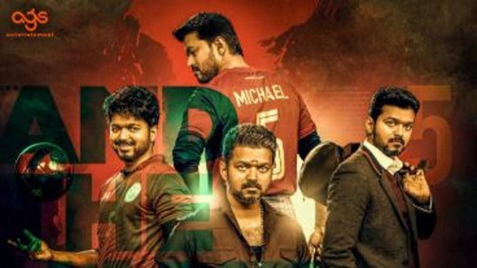 Vijay stars as a football coach in Tamil film Bigil.