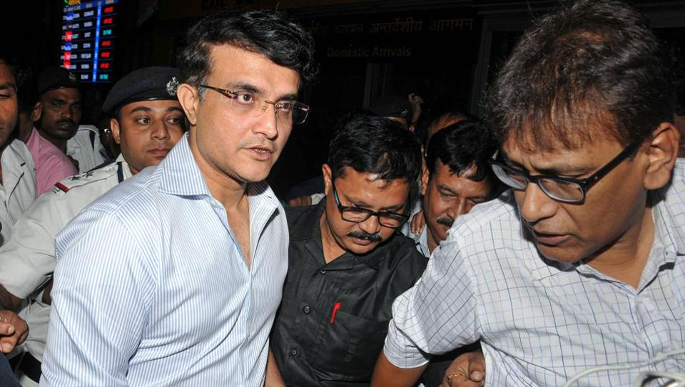 BCCI President-designate Sourav Ganguly