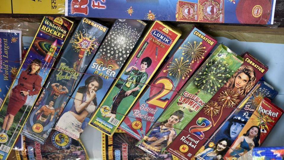 Around 24,000 kilograms of banned firecrackers and raw material worth around Rs 50 lakh were seized from a toy-manufacturing factory and a warehouse in the Narela and Bhorgarh industrial areas of outer Delhi.