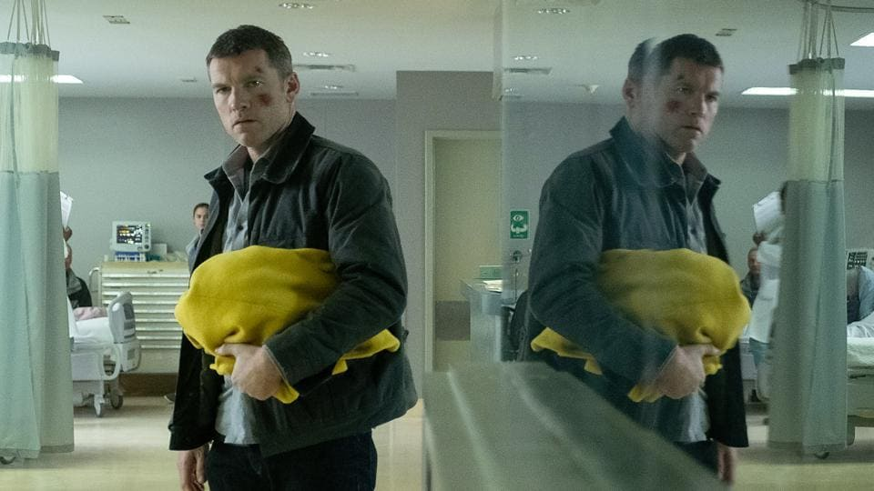 Fractured movie review: Sam Worthington in a still from Brad Anderson's new Netflix film.