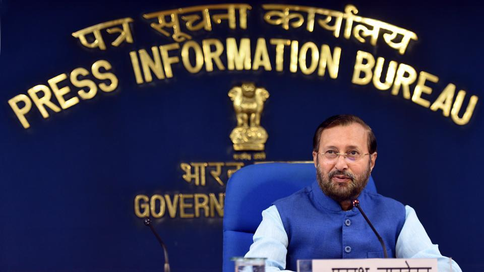 """""""Every time we cut trees, we plant more. It is a rule of the forest department,"""" Javadekar told reporters here."""