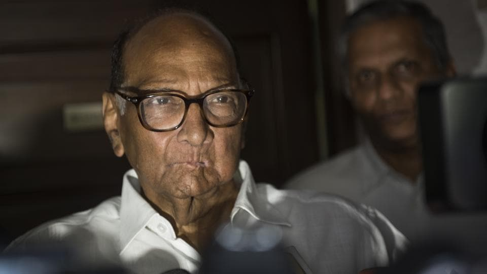 Nationalist Congress Party (NCP) chief Sharad Pawar