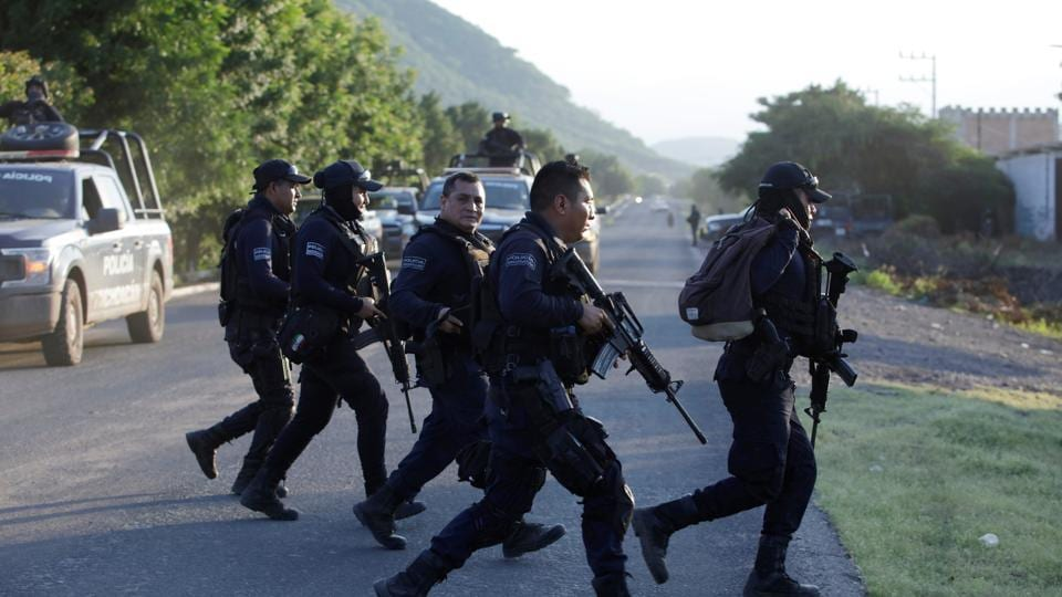 Fifteen people were killed in a gunfight in the southwestern Mexican state of Guerrero.
