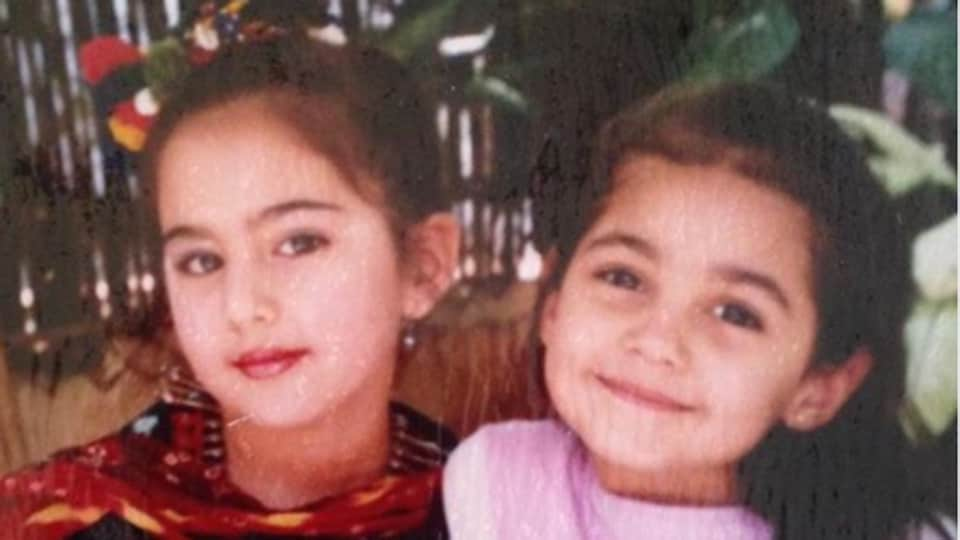 Sara Ali Khan with her 'first friend'.