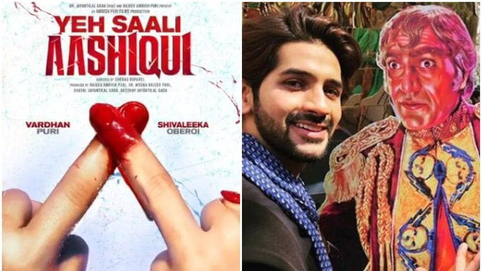 Amrish Puri's grnadson Vardhan is all set to make his film debut with Yeh Saali Aashiqui.