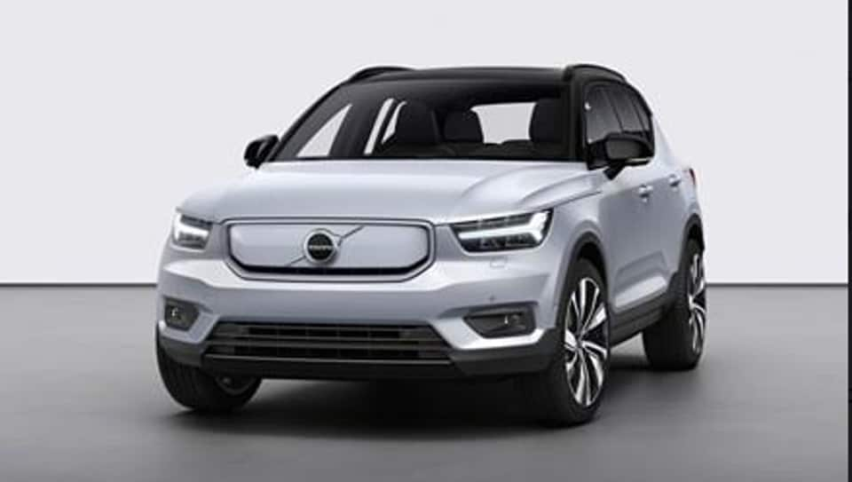 Volvo launches its first fully electric SUV XC40 Recharge - autos - Hindustan Times