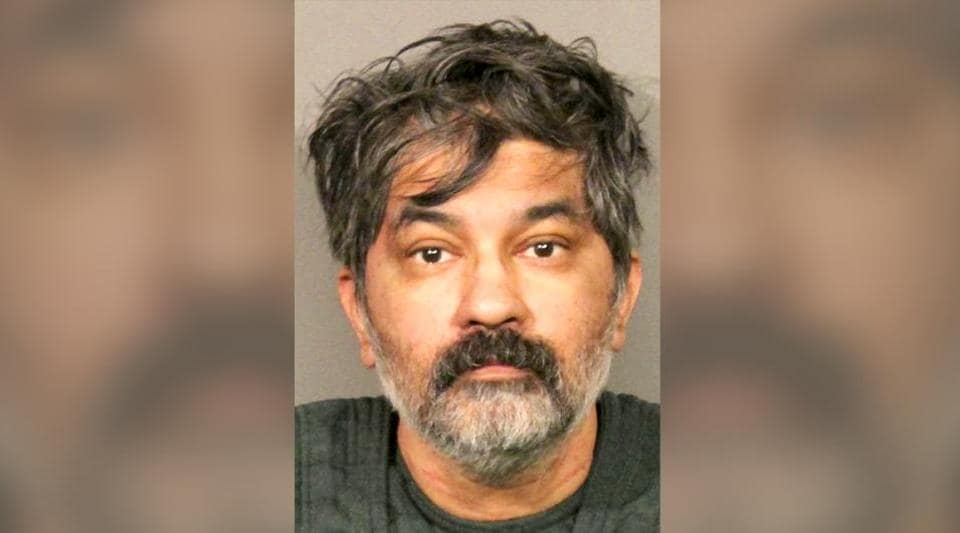 Shankar Hangud, who has been identified as the suspect, showed up at a police station with a dead body in his car and confessed to killing that person and another three members of a family.