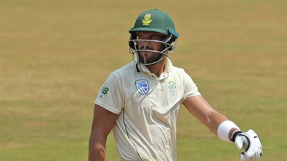 South African batsman Aiden Markram injured lashing out