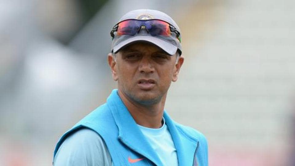 Rahul Dravid, head of cricket at NCA in Bengaluru