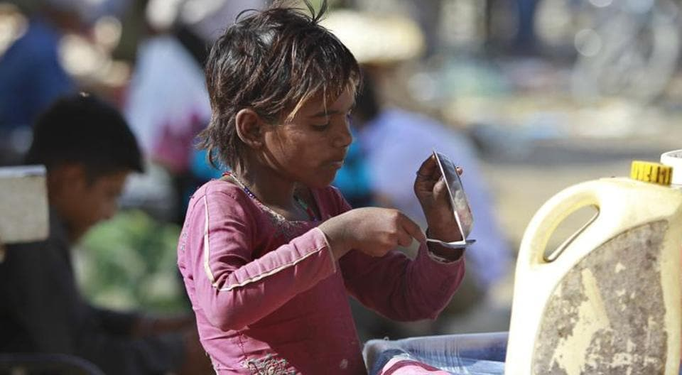 India is languishing at the 102nd spot among 117 countries in the Global Hunger Index (GHI) that was released by Ireland-based Concern Worldwide, an aid agency, on Wednesday, which was also the World Food Day.