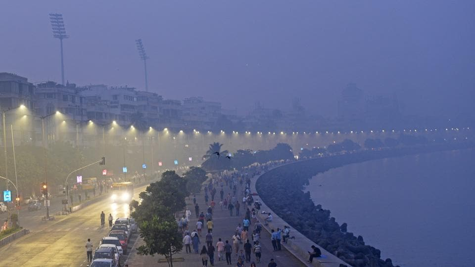 Warming oceans could put India's costal cities such as Mumbai at risk