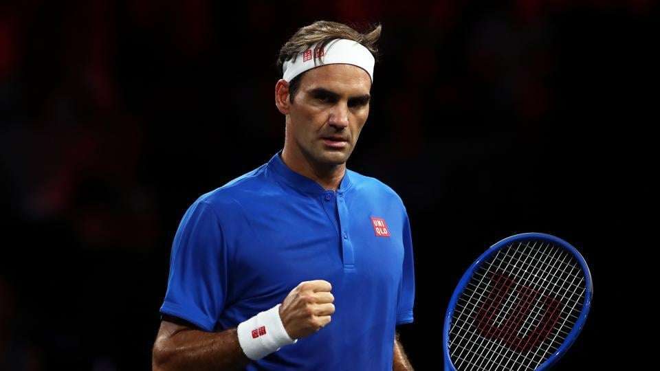 File image of Swiss tennis star Roger Federer.