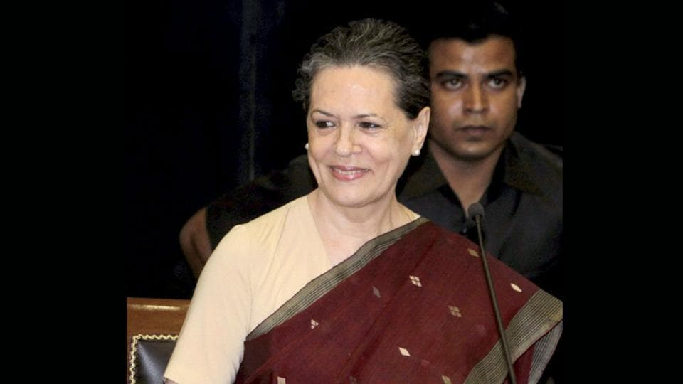 Congress president Sonia Gandhi is scheduled to address an election rally in Haryana's Mahendragarh.