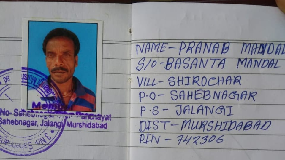 Border Guard Bangladesh did not hand over Pranab Mandal, the Indian fisherman whom they had allegedly taken into custody.