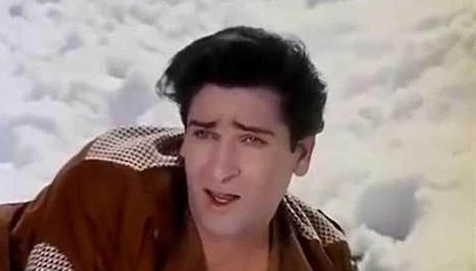 Shammi Kapoor in a still from Junglee.