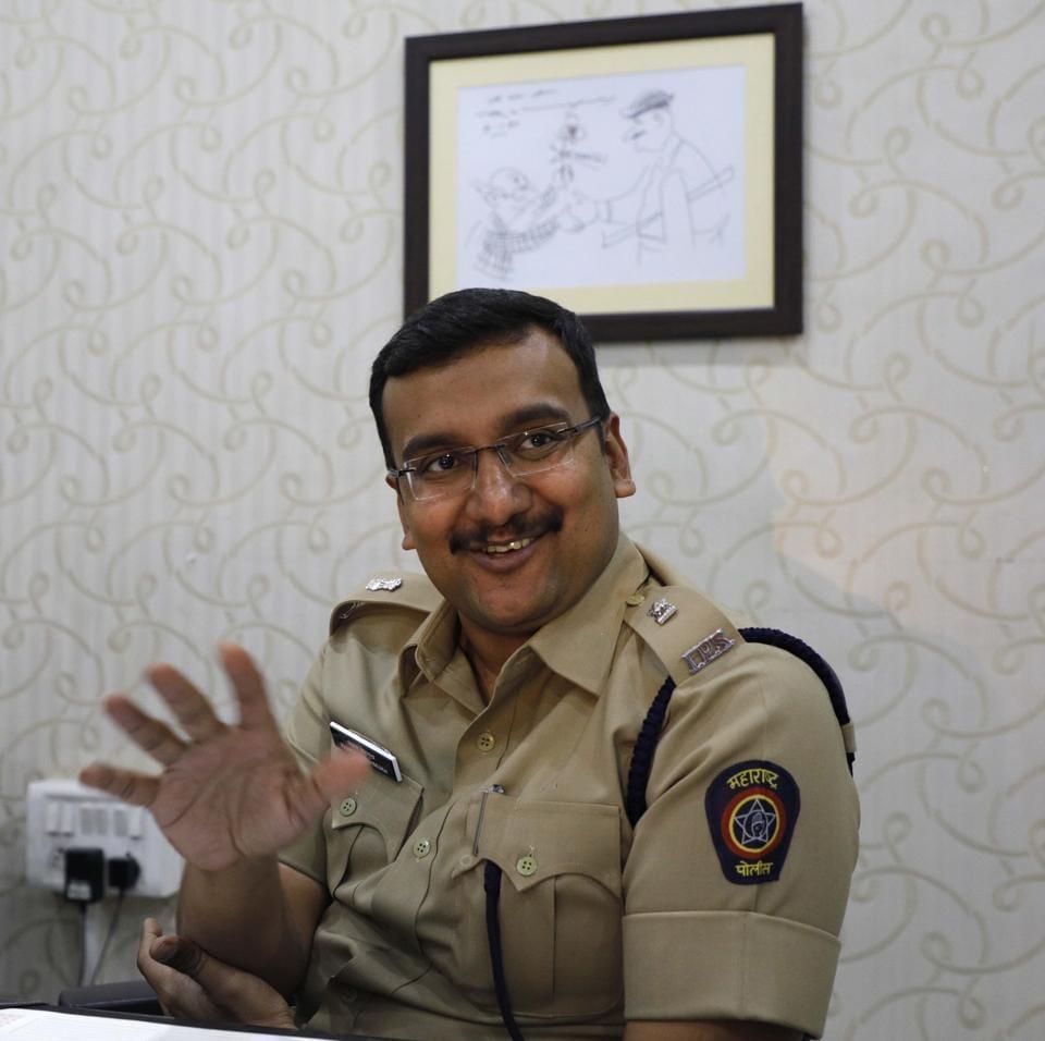 Pankaj Deshmukh, deputy commissioner of police, traffic