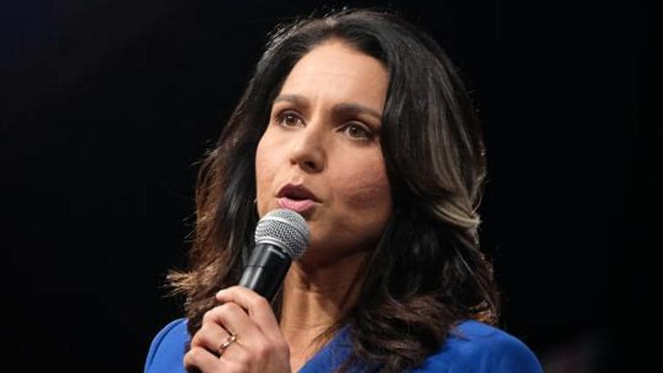 Representative Tulsi Gabbard, a Democrat from Hawaii and 2020 presidential candidate.