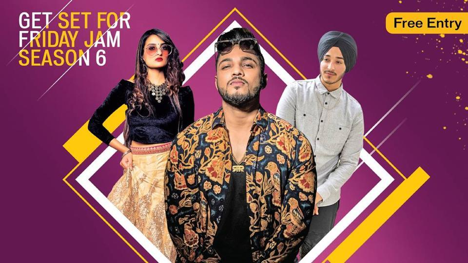Rap artist Raftaar and singers Rasmeet Kaur and Deep Kalsi wooed the audience with their performances at HT Friday Jam Season Six's launch event in DLF Cyberhub.