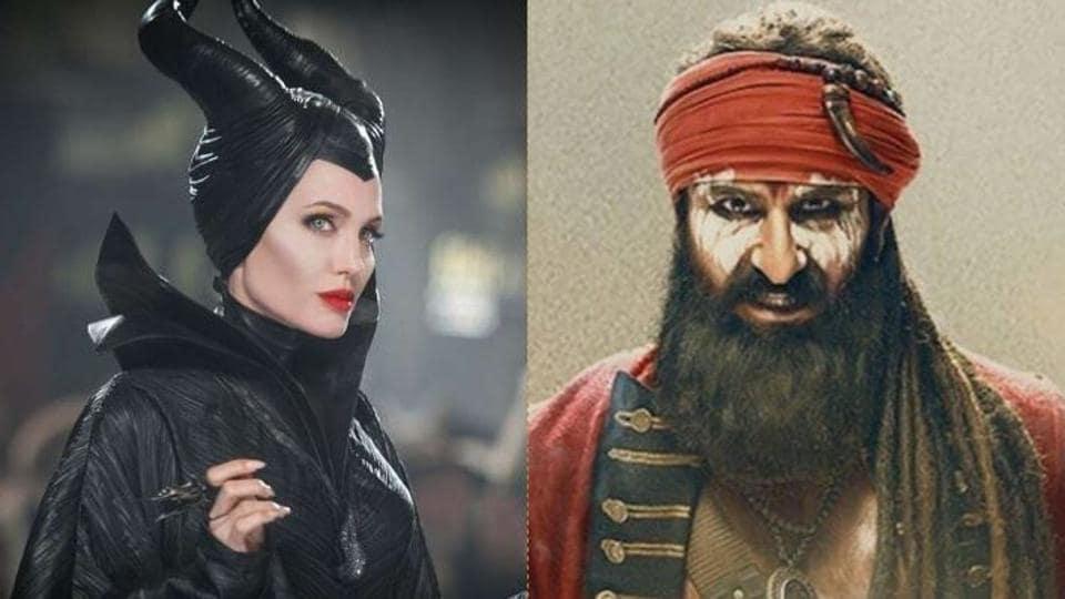 Saif Ali Khan's Laal Kaptaan opened lower than Angelina Jolie' s Maleficent: Mistress of Evil on Friday.