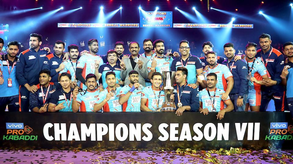 Bengal Warriors won the PKL2019 title.