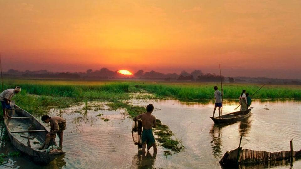 Spread over 1,256 sq km at the beginning of the 20th century, Majuli island has now been reduced to around 350 sq km uprooting many of its residents in the process.
