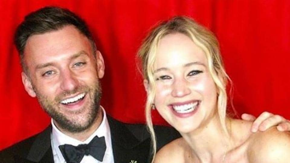 Jennifer Lawrence sparkles at wedding to Cooke Maroney