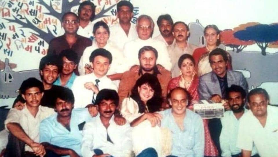 Neena Gupta has shared this throwback picture from sets of 1989 film Daddy.