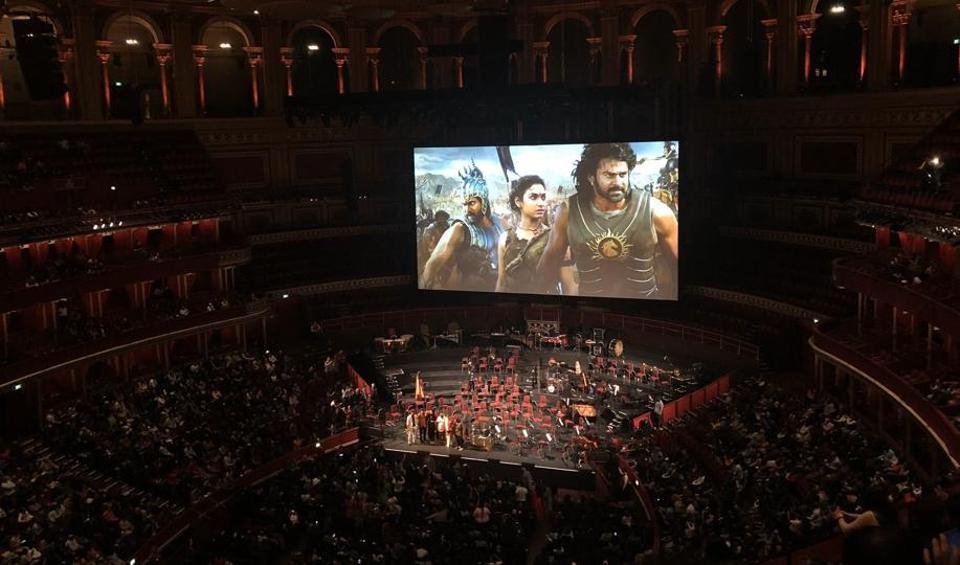 Baahubali The Beginning screened at the Royal Albert Hall in London.