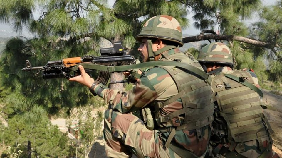 In retaliation, the Indian Army inflicted heavy damages and casualties on the Pakistan side.