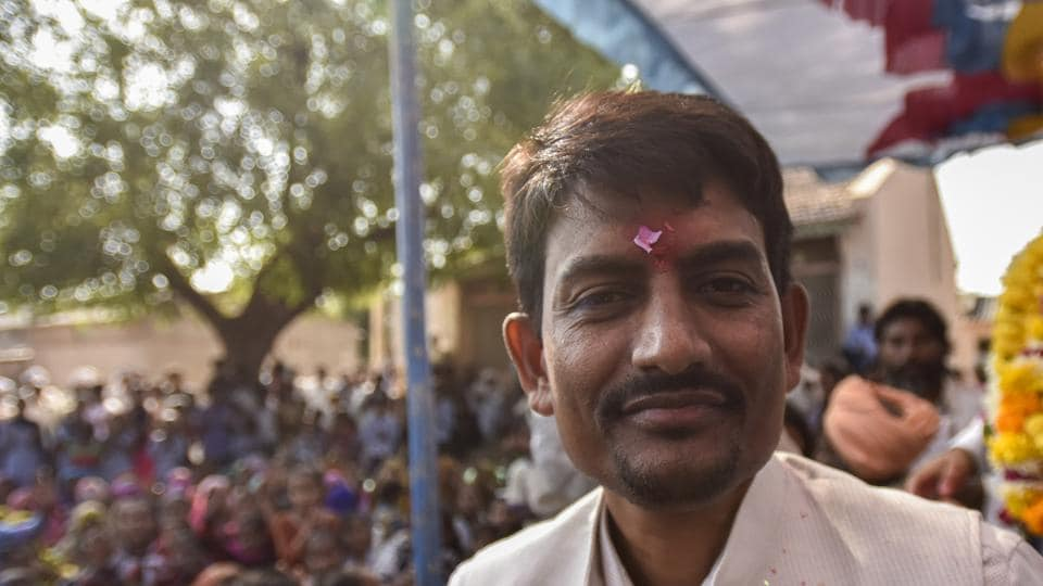 Alpesh Thakor had won the 2017 elections on a Congress ticket but is now contesting from Radhanpur as a BJP candidate.