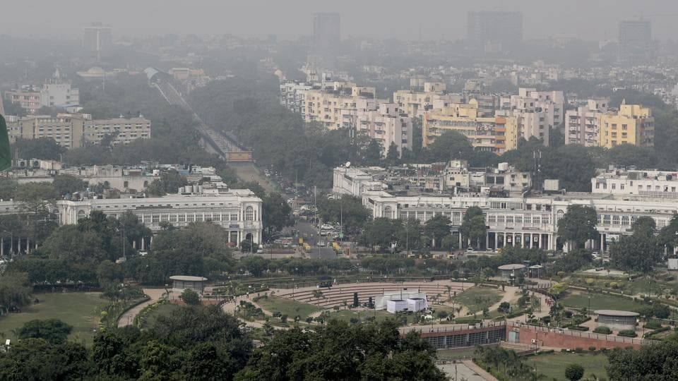 After a nearly a week-long spell of bad air, Delhi breathed relatively clean on Saturday with the air quality index (AQI) settling in the 'moderate' category.