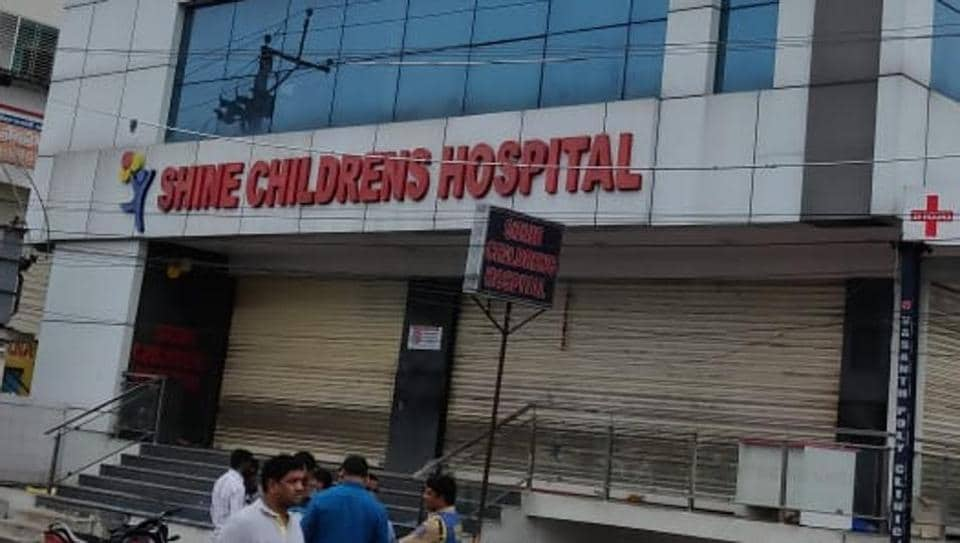 As the fire engulfed the ICU quickly, the hospital staff immediately broke open the doors and windows to rescue the infants, who were undergoing treatment for various ailments.