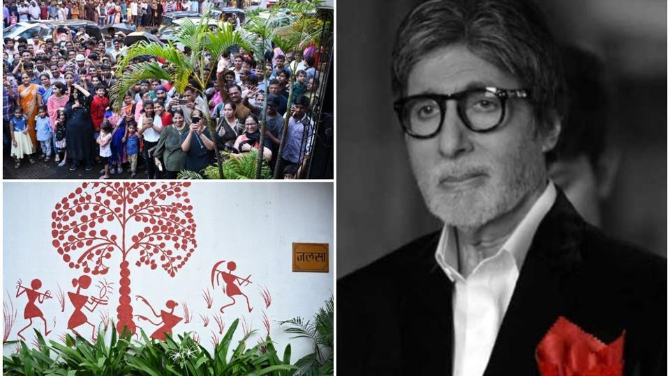Amitabh Bachchan was in a Mumbai hospital for three days for a regular health check up.