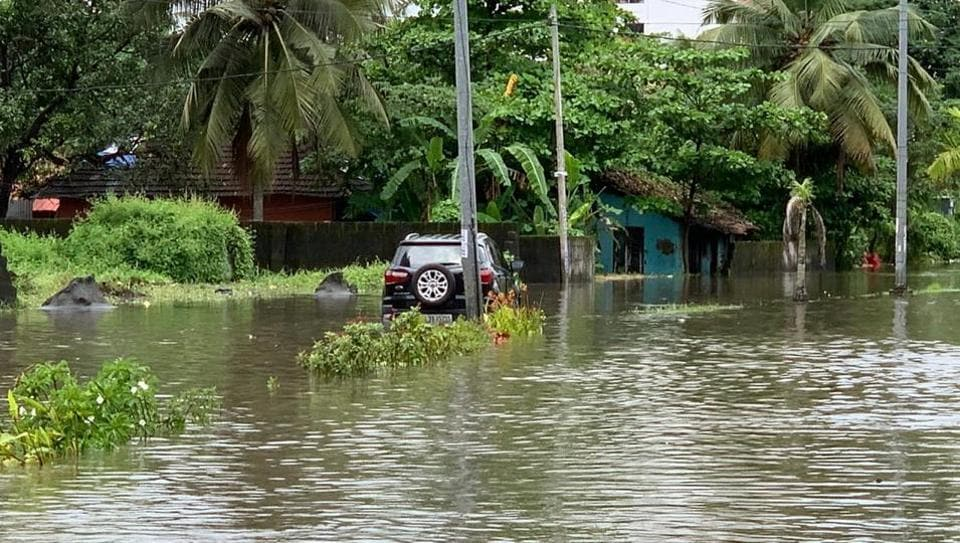 Many polling booths in Ernakulam were submerged and political parties have asked the Election Commission to postpone the election.