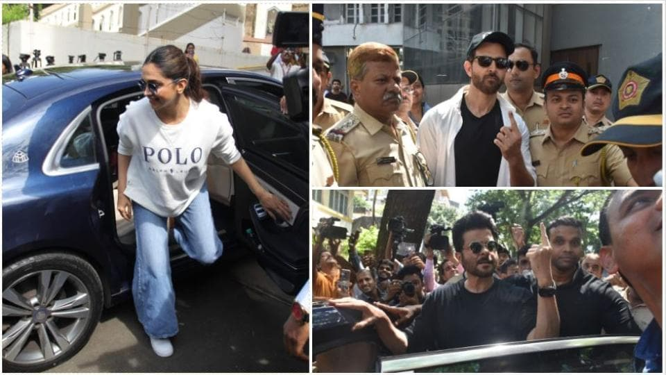 Assembly elections 2019: Deepika Padukone, Hrithik Roshan, Varun Dhawan and others cast vote. See pics