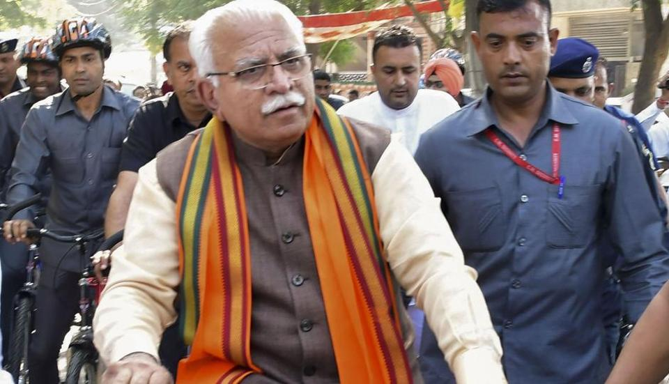 Haryana's BJPChief Minister Manohar Lal Khattar is set to retain power for a second term with a higher majority.