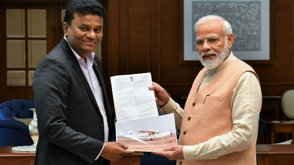 After meeting with Prime Minister Narendra Modi in New Delhi, Yadav said he is happy to know that the Prime Minister was following his project and was updated with information about it.