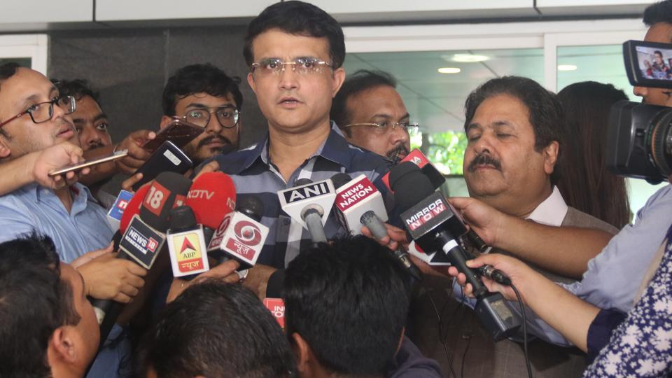 A file photo of Sourav Ganguly.