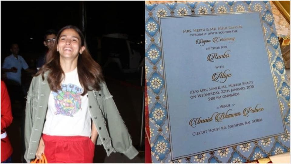 This wedding invitation card of Alia Bhatt, Ranbir Kapoor is fake!