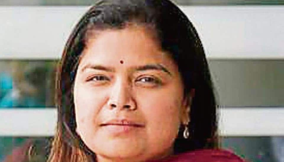 The Bharatiya Janata Party's (BJP) youth wing chief and two-term Lok Sabha MP from Mumbai North Central, Poonam Mahajan