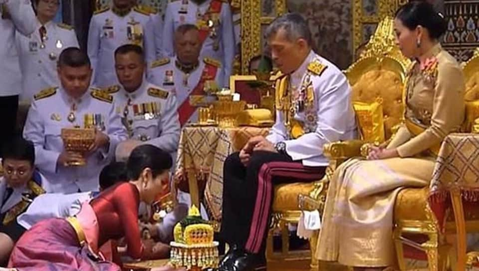 It was an intimate and rare glimpse into the private life of Thailand's powerful, ultra-wealthy and inscrutable monarch, known as Rama X of the Chakri dynasty.