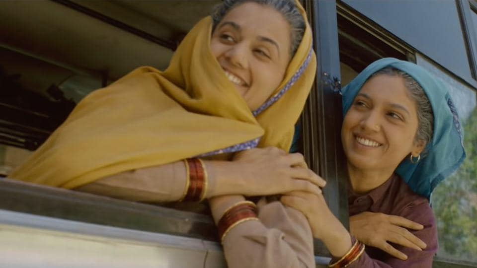 Saand Ki Aankh movie review: Taapsee Pannu and Bhumi Pednekar play sexagenarian shooters.