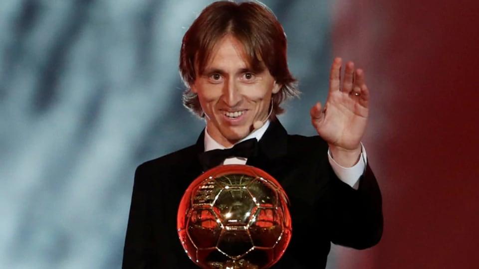 File photo of Luka Modric.
