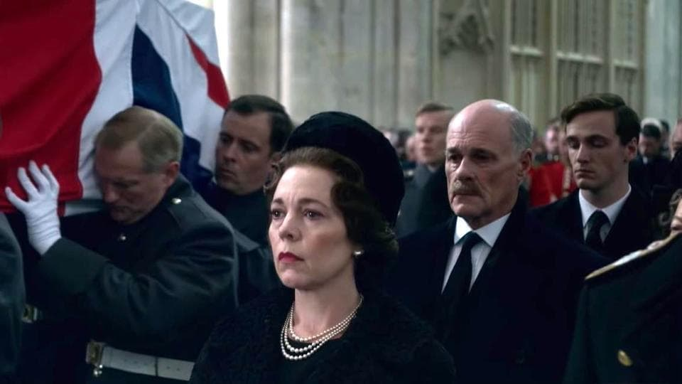 Olivia Colman will play Queen Elizabeth for two seasons.