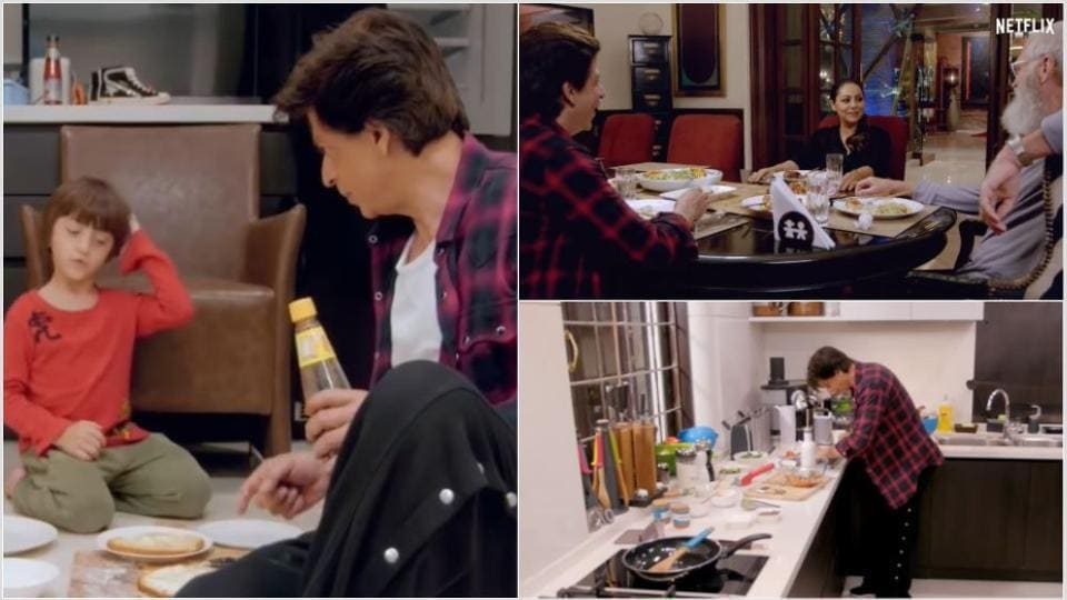 Shah Rukh Khan has been learning to cook Italian food.
