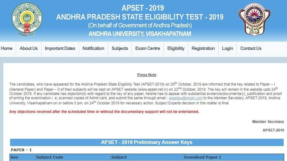 The examination was conducted on October 20, 2019. (Screengrab)