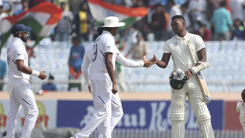 South Africa lost the 3rd Test by an innings and 202 runs.